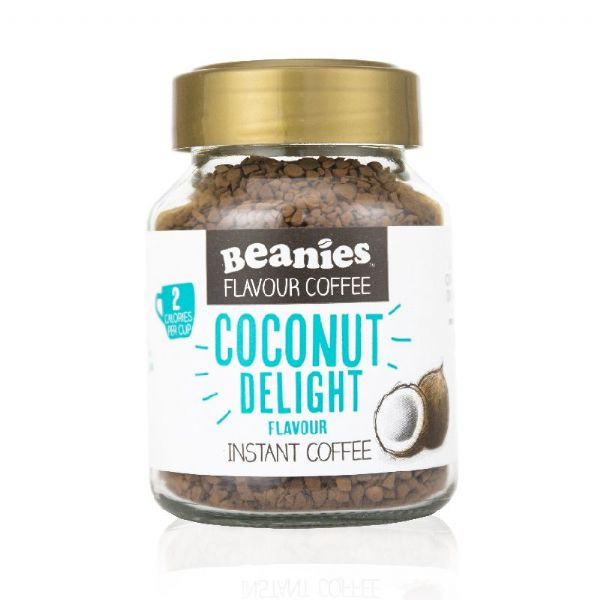 Beanies Coconut Delight Flavour Instant Coffee 50g